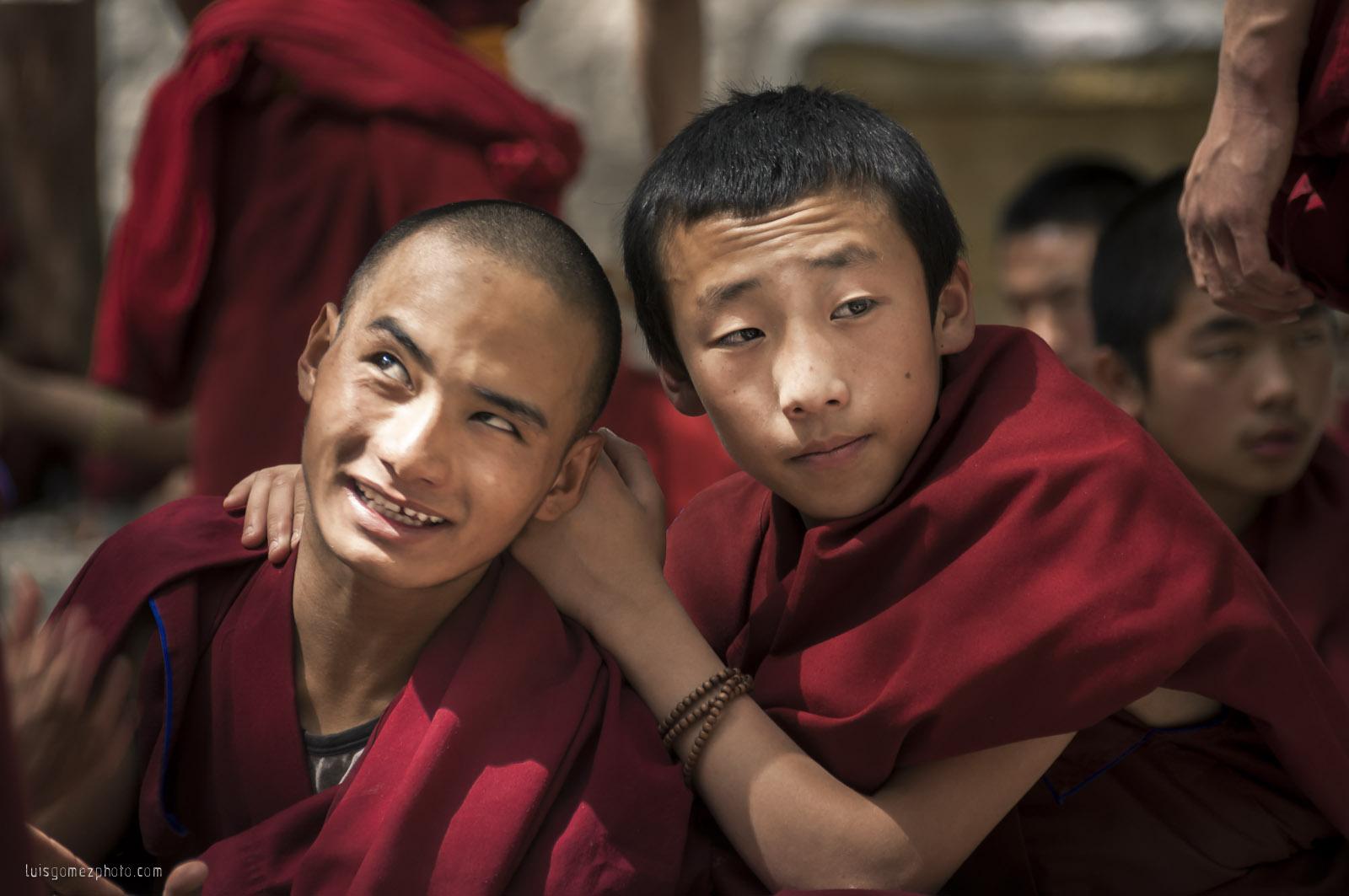 Sera Buddhist monks