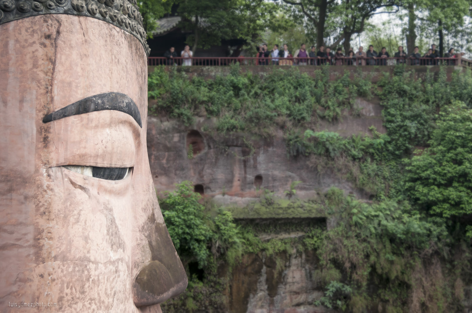 Leshan's Buddha