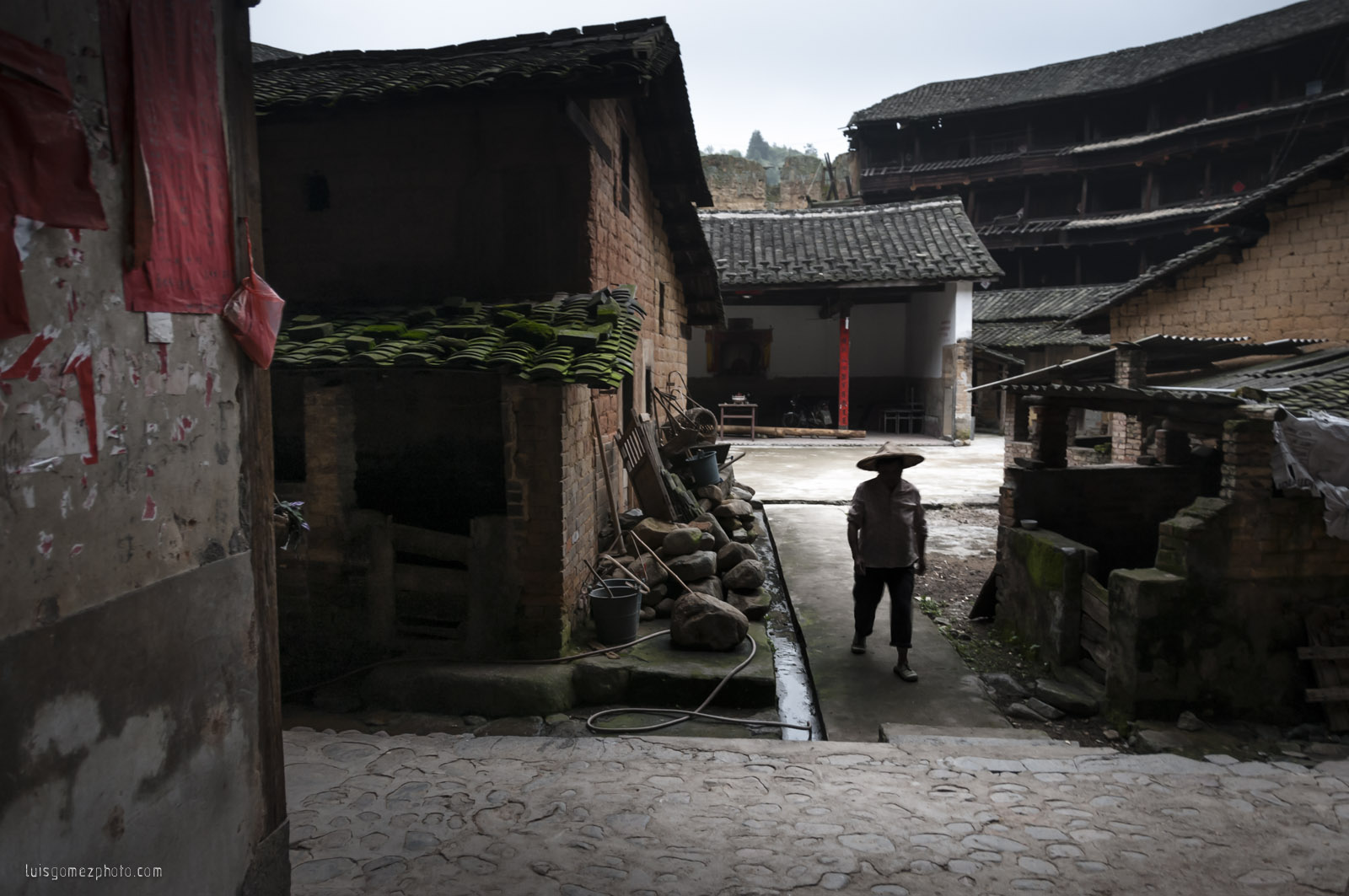 Inside of Tulou