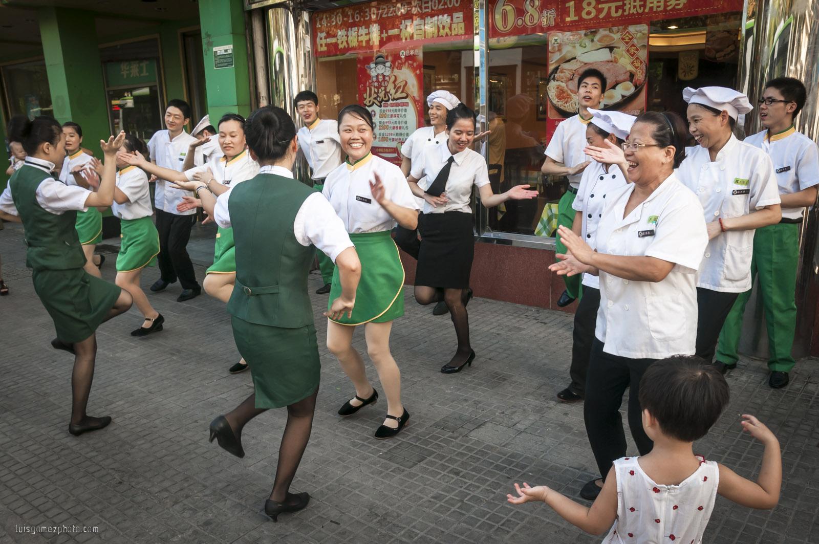 Dancing crew