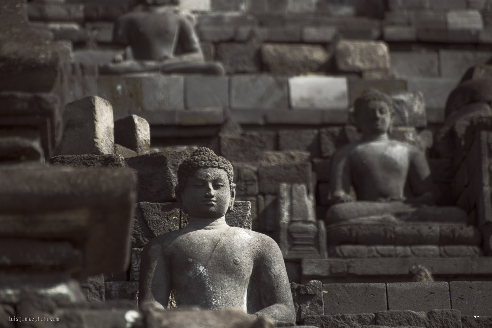 Borobudur Buddha
